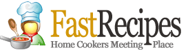 Fast Recipes logo