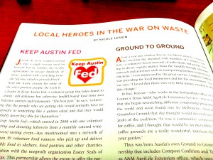 Photo of Edible Austin Article Affected