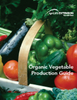 organic vegetable production guide cover