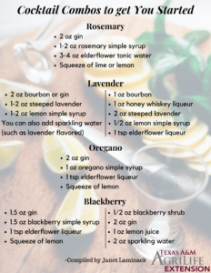 Cocktail Combos to get you Started